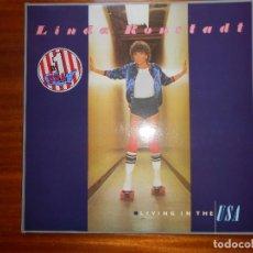 Disques de vinyle: LP LINDA RONSTADT LIVING IN THE USA 1978. Lote 141317638