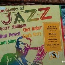 Discos de vinilo: LP ( VINILO) DE GERRY MULLIGAN-CHET BAKER-BUD POWELL-CLARK TERRY-ZOOT SIMS. Lote 141327710
