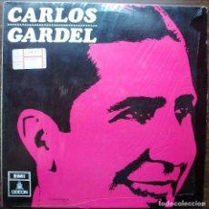 Discos de vinilo: CARLOS GARDEL. ACOMP. GUITARRAS 1966. Lote 141332262
