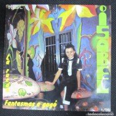 Discos de vinilo: ISABEL - FANTASMAS A GOGO / LA RUEDA - SINGLE PALOBAL 1970. Lote 141345278