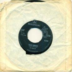 Disques de vinyle: BEATLES YELLOW SUBMARINE Y ELEANOR RIBGY. Lote 141354366
