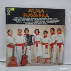 Discos de vinilo: ALMA NAVARRA. LP VINILO. DISCOPHON 1978. VER FOTOGRAFIAS ADJUNTAS. Lote 141368302