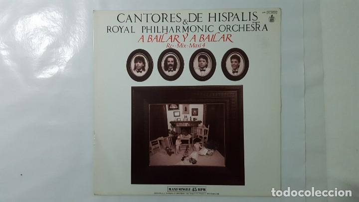 Discos de vinilo: MAXI / CANTORES DE HISPALIS & ROYAL PHILHARMONIC ORCHESTRA / A BAILAR Y A BAILAR / RE-MIX-MAXI 4 - Foto 2 - 141435754