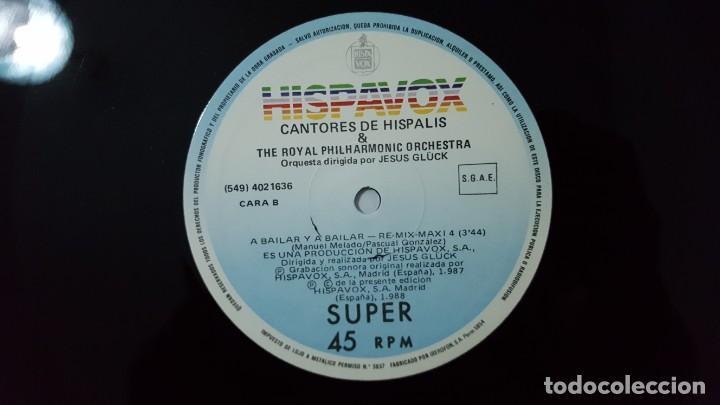 Discos de vinilo: MAXI / CANTORES DE HISPALIS & ROYAL PHILHARMONIC ORCHESTRA / A BAILAR Y A BAILAR / RE-MIX-MAXI 4 - Foto 4 - 141435754
