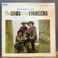 Discos de vinilo: THE BEST OF ' THE SONS OF THE PIONEERS' USA-1966 LP33. Lote 141440102