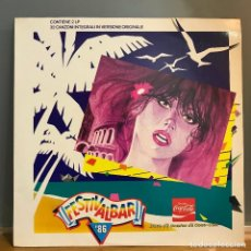 Discos de vinilo: FESTIVALBAR '86_ ITALO-DISCO, SYNTH-POP EN 3LP_ INTERESANTE DISCO. Lote 141440734