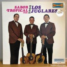Discos de vinilo: LOS JUGLARES/SABOR TROPICAL_ BOLERO, CUMBIA, CHA-CHA_COMO NUEVO. Lote 141441530