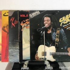 Discos de vinilo: EDDY GRANT \ WALKING ON SUNSHINE / PACK 5LP_ KILLER ON THE RAMPAGE_ GOING FOR BROKE. Lote 141442102