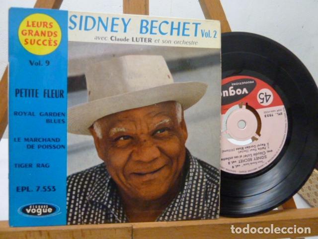 SIDNEY BECHET-PETITE FLEUR-Y 3 MAS (Música - Discos de Vinilo - EPs - Jazz, Jazz-Rock, Blues y R&B)