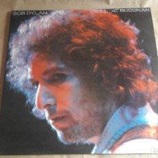 Discos de vinilo: LP VINILO. BOB DYLAN AT BUDOKAN. ED. ESPAÑA CBS 1979. CON POSTER. EXCELENTE ESTADO.. Lote 188454711