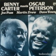 Discos de vinilo: BENNY CARTER MEETS OSCAR PETERSON..LP. Lote 141447274