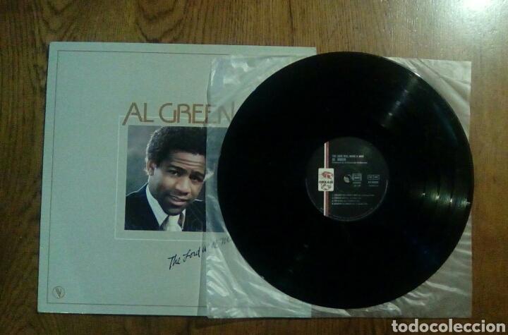 Discos de vinilo: Al Green - The lord will make a way, 1980, Hi Records. France. - Foto 3 - 141448022
