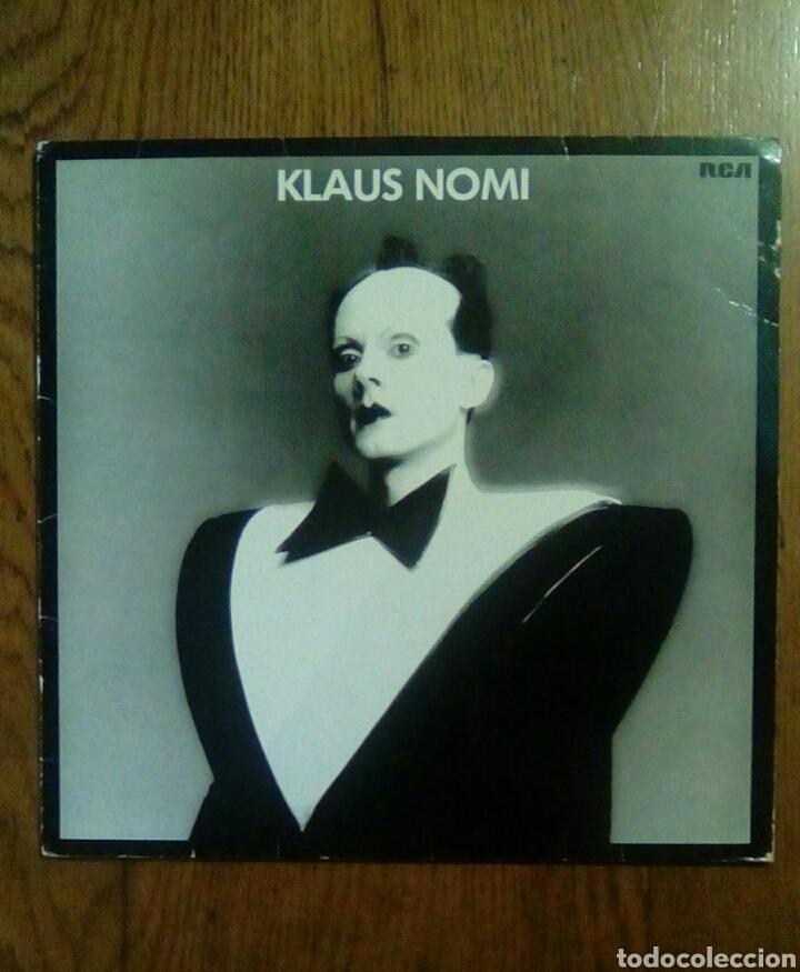 KLAUS NOMI - KLAUS NOMI, 1981, RCA. GERMANY. (Música - Discos - LP Vinilo - Pop - Rock - New Wave Extranjero de los 80)