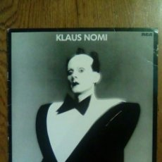 Discos de vinilo: KLAUS NOMI - KLAUS NOMI, 1981, RCA. GERMANY.. Lote 141448166