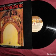 Discos de vinilo: MONSEÑOR-- MONSIGNOR LP BANDA SONORA ORIGINAL MUSICA JOHN WILLIAMS. Lote 141448874