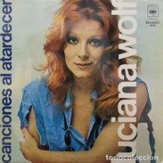 Discos de vinilo: LUCIANA WOLF - CANCIONES AL ATARDECER - LP VINILO. Lote 141457738