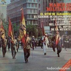 Disques de vinyle: ORQUESTA MARAVELLA / BANDA DE AVIACION / GRAN BANDA MILITAR - MARCHAS MILITARES - LP VINILO 1979. Lote 141460698