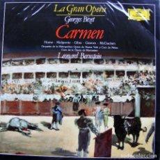 Discos de vinilo: LA GRAN OPERA GEORGES BIZET CARMAN I. Lote 141464130