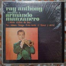 Discos de vinilo: LP RAY ANTHONY INTERPRETA A ARMANDO MANZANERO. Lote 141482978