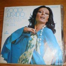 Discos de vinilo: ROCIO JURADO. ¿CUAL ES LA CALLE DE VD ? / SEVILLANAS CHIPIONERAS. COLUMBIA, 1973. IMPECABLE (#). Lote 141485570