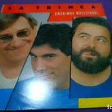 Discos de vinilo: DISCO VINILO. LA TRINCA, SINANIMUS MOLESTANDI. LP, 1985, ARIOLA. Lote 141499650