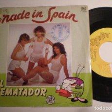 Discos de vinilo: MADE IN SPAIN - SINGLE 1981. Lote 141504614