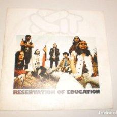 Discos de vinilo: SINGLE XIT RESERVATION OF EDUCATION. COLOR NATURE GONE. TAMLA MOTOWN 1974 SPAIN (PROBADO Y BIEN). Lote 141504942