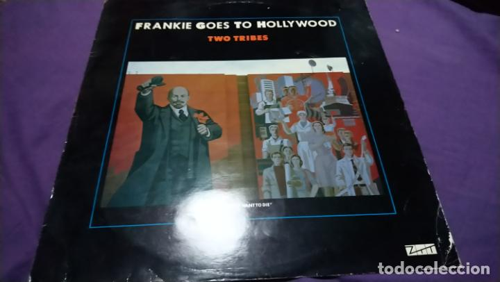 FRANKIE GOES TO HOLLYWOOD - TWO TRIBES (Música - Discos de Vinilo - Maxi Singles - Rock & Roll)