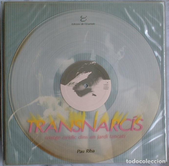 PAU RIBA - TRANSNARCIS (VIATGE OVIDIC DINS UN JARDÍ TANCAT) - 2 LP 1986 EDICIONS DE L'EIXAMPLE (Música - Discos - LP Vinilo - Grupos Españoles de los 70 y 80)