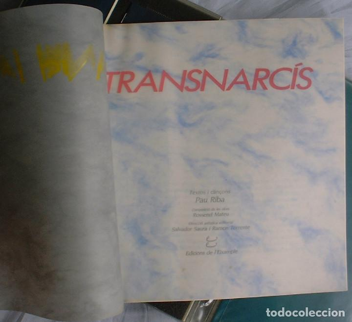 Discos de vinilo: Pau Riba - Transnarcis (Viatge ovidic dins un jardí tancat) - 2 LP 1986 Edicions de L'Eixample - Foto 6 - 141516390