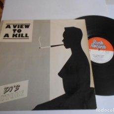 Discos de vinilo: DJ'S FACTORY – MAXI A VIEW TO A KILL-RR 12011. Lote 141516586