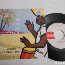 Discos de vinilo: BILLO'S CARACAS BOYS-EP EL SON SE FUE DE CUBA +3-NUEVO. Lote 141517054