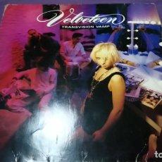 Discos de vinilo: TRANSVISION VAMP - VELVETEEN LP. Lote 141518106