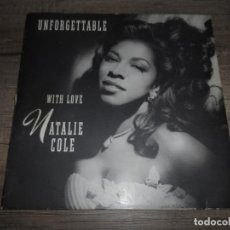 Discos de vinilo: NATALIE COLE - UNFORGETTABLE WITH LOVE. Lote 141524154