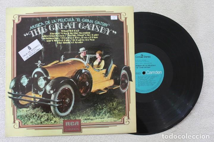 Discos de vinilo: BSO THE GREAT GATSBY LP VINYL MADE IN SPAIN 1974 - Foto 1 - 141541690
