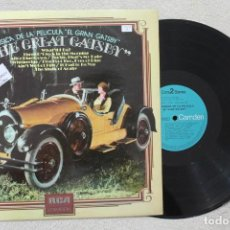 Discos de vinilo: BSO THE GREAT GATSBY LP VINYL MADE IN SPAIN 1974. Lote 141541690