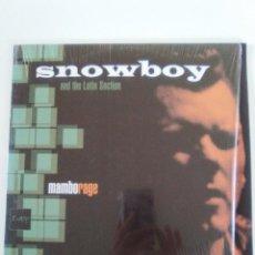 Discos de vinilo: SNOWBOY AND THE LATIN SECTION MAMBORAGE 2LP ( 1998 UBIQUITY CUBOP USA ) BUEN ESTADO GENERAL. Lote 141542522