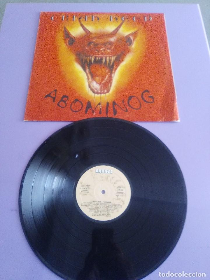 Lp Original Uriah Heep Abominog Ref Bron Sold Through Direct Sale 141544782