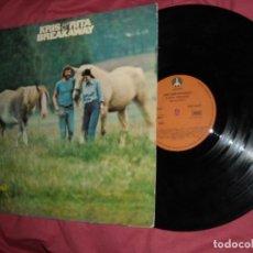 Discos de vinilo: KRIS & RITA - BREAKAWAY 1975 LP SPA. Lote 141552518
