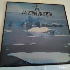 Discos de vinilo: LA ZONA MUERTA - PSICOSIS / VINILO SINGLE TEMAZO . Lote 141556382