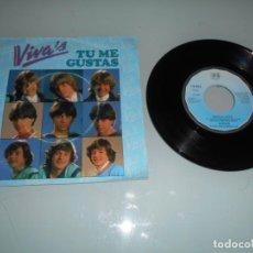 Discos de vinilo: VIVA´S (ES UNA MARCA REGISTRADA DE DISCOS BELTER - SINGLE 1982 - VINILO MUY BUSCADO - MÁGICO. Lote 141556626