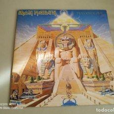 Discos de vinilo: LP IRON MAIDEN POWERSLAVE VINILO EDICION ESPAÑOLA HEAVY METAL. Lote 141556826