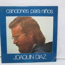 Discos de vinilo: CANCIONES PARA NIÑOS. JOAQUIN DIAZ. LP VINILO. MOVIEPLAY 1980. VER FOTOGRAFIAS ADJUNTAS. Lote 141556986