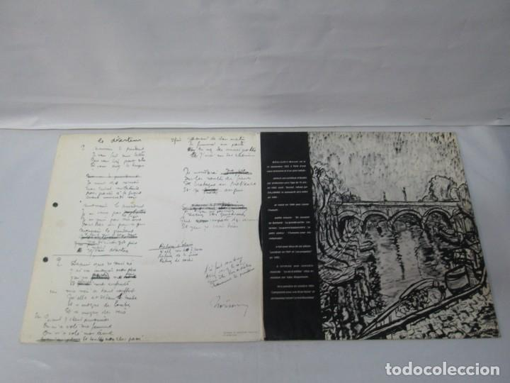 Discos de vinilo: MOULOUDJI. POSIBLEMENTE DEDICADO POR EL AUTOR. LP VINILO. VER FOTOGRAFIAS ADJUNTAS - Foto 6 - 141569850