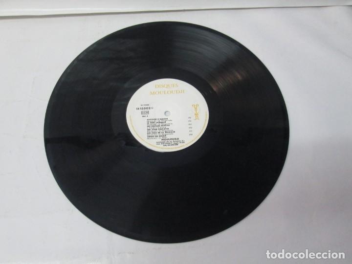 Discos de vinilo: MOULOUDJI. POSIBLEMENTE DEDICADO POR EL AUTOR. LP VINILO. VER FOTOGRAFIAS ADJUNTAS - Foto 7 - 141569850