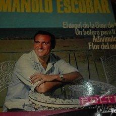 Discos de vinilo: DISCO VINILO EP MANOLO ESCOBAR. Lote 141577130