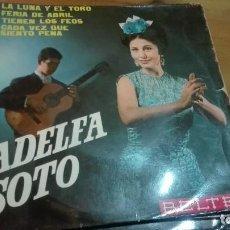 Discos de vinilo: DISCO VINILO EP ADELFA SOTO. Lote 141578578
