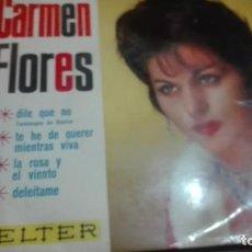 Discos de vinilo: DISCO VINILO EP CARMEN FLORES. Lote 141579210
