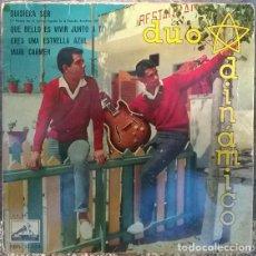 Discos de vinilo: DÚO DINÁMICO. QUISIERA SER/ QUE BELLO ES VIVIR JUNTO A TI/ ERES UNA ESTRELLA AZUL/ MARI CARMEN. 1961. Lote 141579470