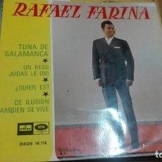 Discos de vinilo: DISCO VINILO EP RAFAEL FARINA. Lote 141579486